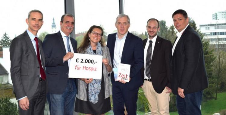 2.000 Euro für Landeshospiz